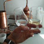 sall whisky distillery glas
